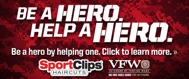 Sport Clips Haircuts of Town Center at Creekside​ Help a Hero Campaign