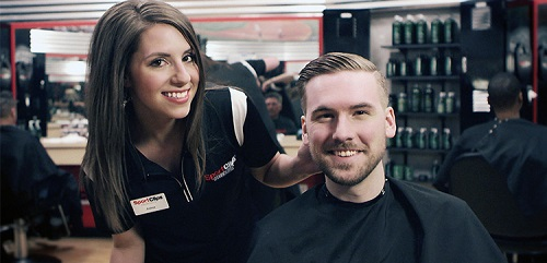 Sport Clips Haircuts of Town Center at Creekside​ stylist hair cut